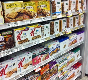 Are Snack Bars Really Healthy?