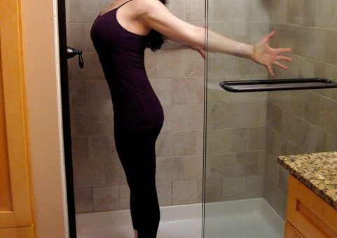 7 Stretches You Can Do In The Shower