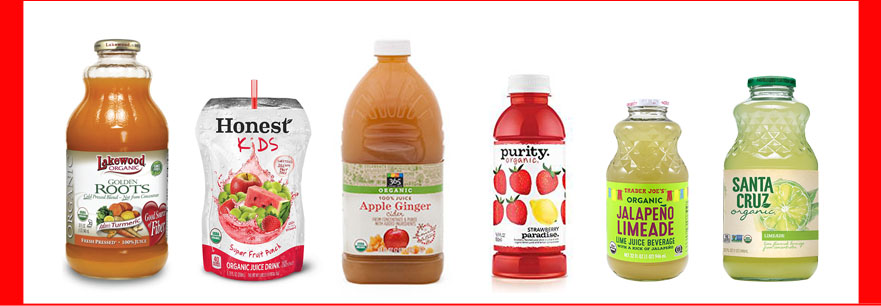 Fruit Juice Brands to Avoid